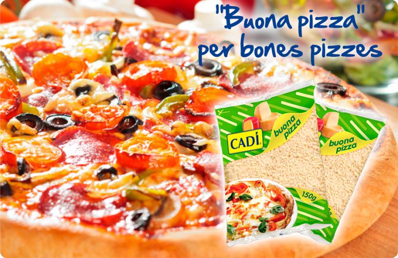 Cadí pizzas